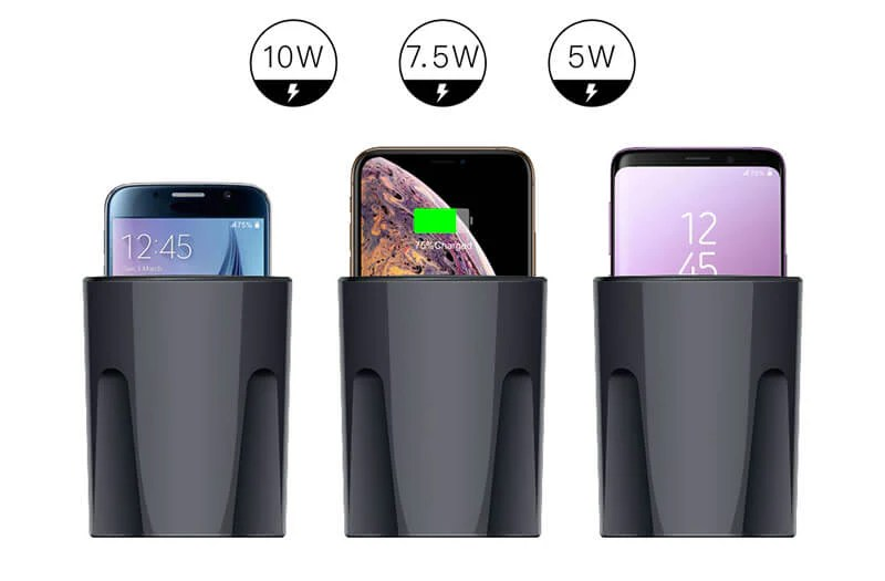Enjoy Wireless/ Easy Charging: WPC Qi standard for wireless charging technology is adopted. Smart detection of mobile phones