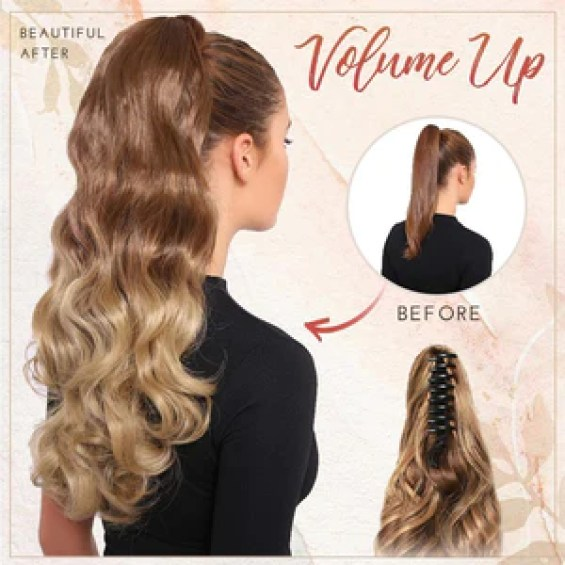 Claw-Clip Ponytail Extension LuckCharmer