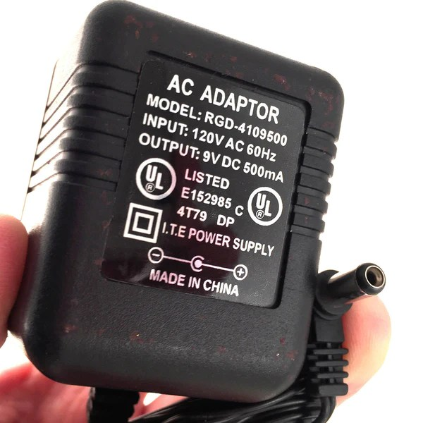 RGD 4109500 AC DC OEM Power Supply Adapter Charger 9V DC