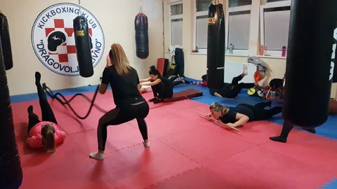 Grupni trening za žene