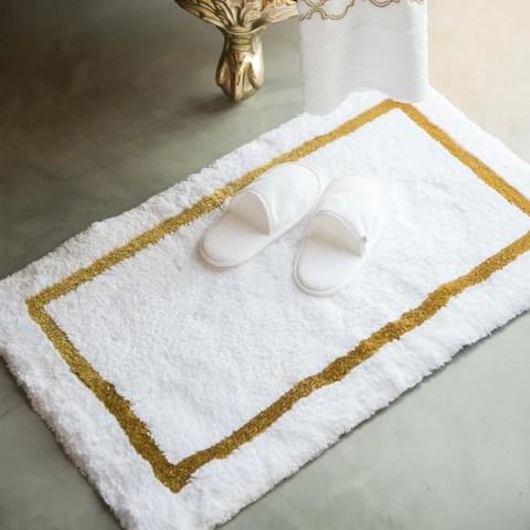 habidecor karat bath rug - gold (800) – flandb