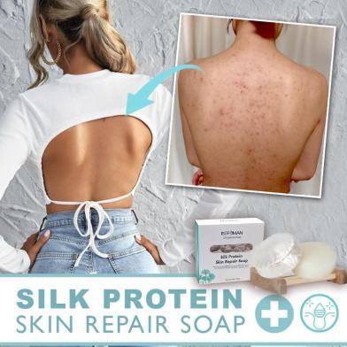 Premium Silk Protein Repair Soap
