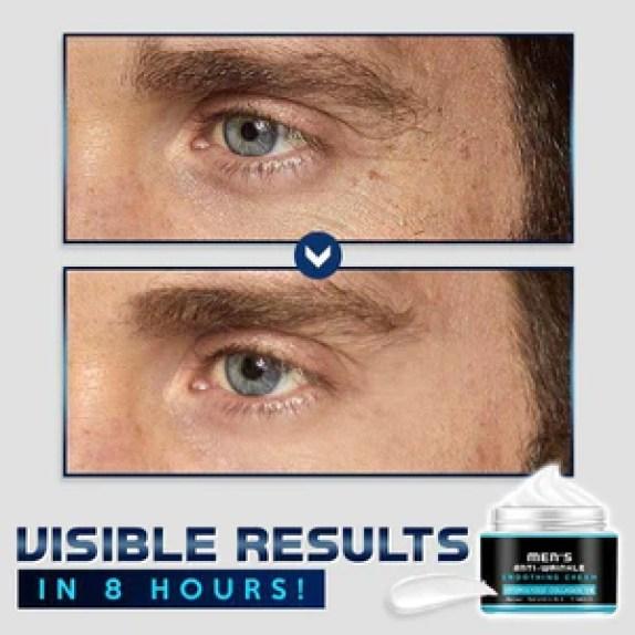 Men's Anti-Wrinkle Smoothing Cream