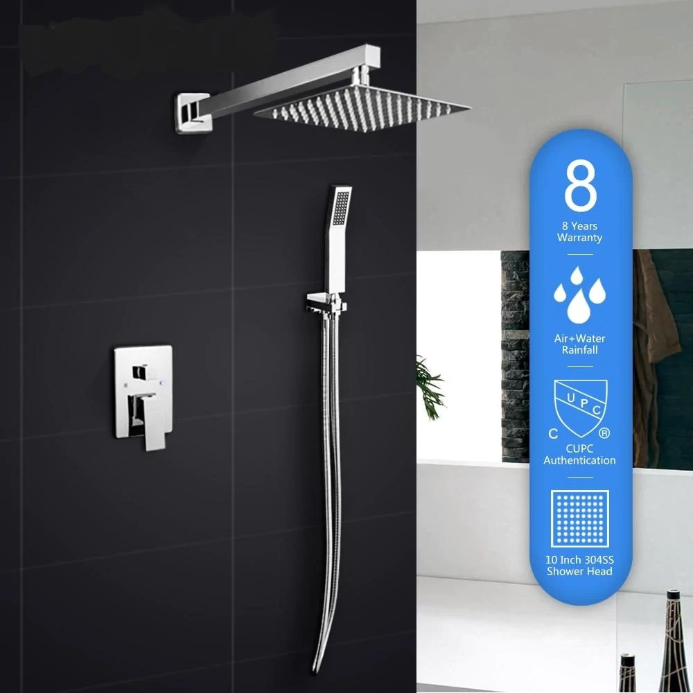 thermostatic shower faucet set with cupc