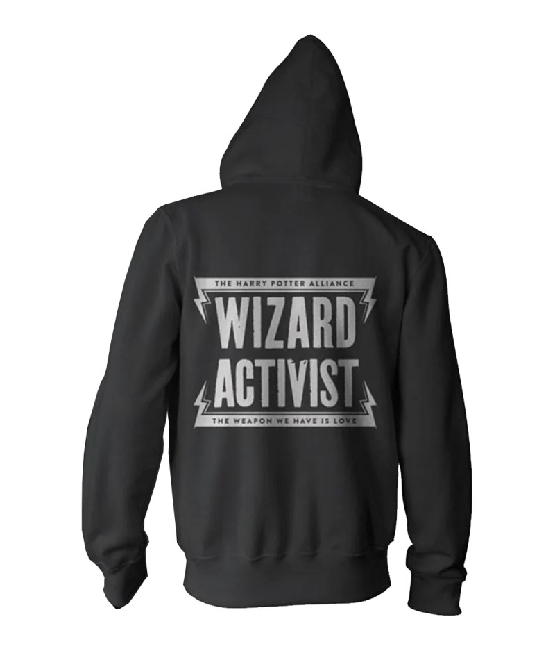 d91699218 Double Women Harry Potter Sweatshirt Youth Wizard Activist Hoodie ...