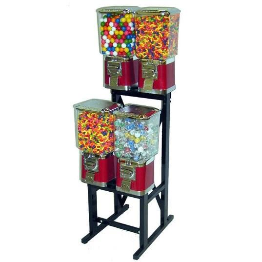 4 Head Bulk Vending Machine Rack