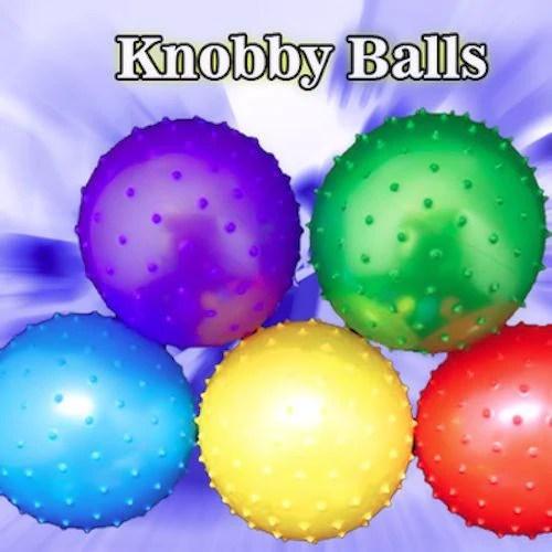 Knobby Balls 5 Inch Crane Machine Balls