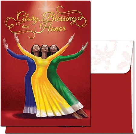 African American Christmas Cards AAE C909 Its A Black