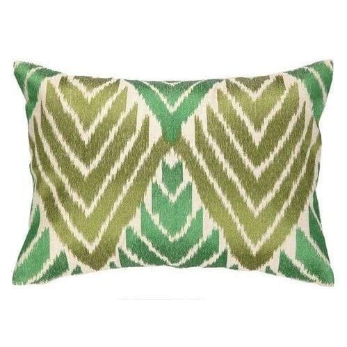 cypress emerald green throw pillow