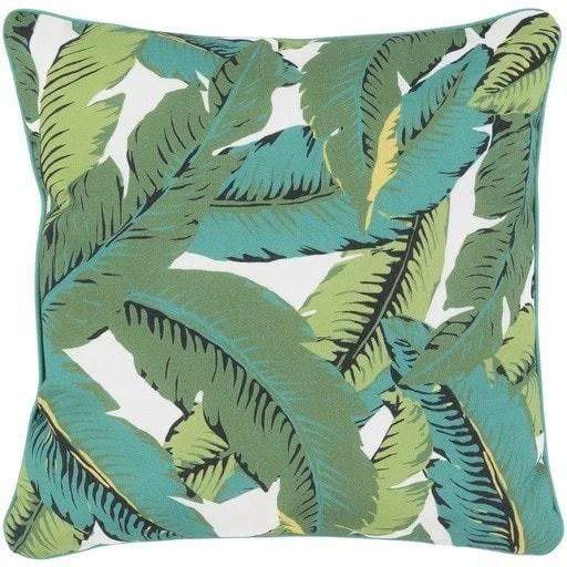 outdoor banana leaf pillow
