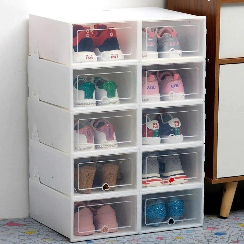 boite de rangement pour chaussures mt lot de 6 pieces