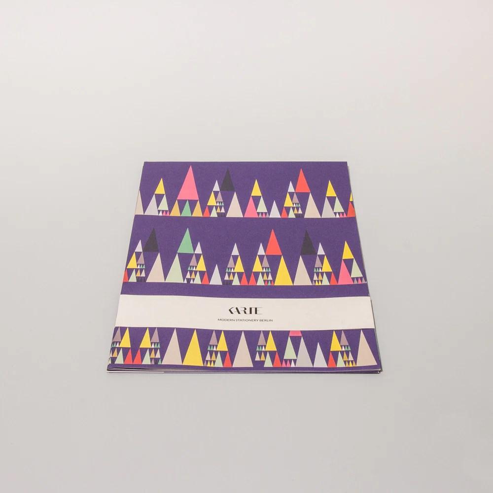 Scandinavian Christmas Wrap Set 4 Bgen