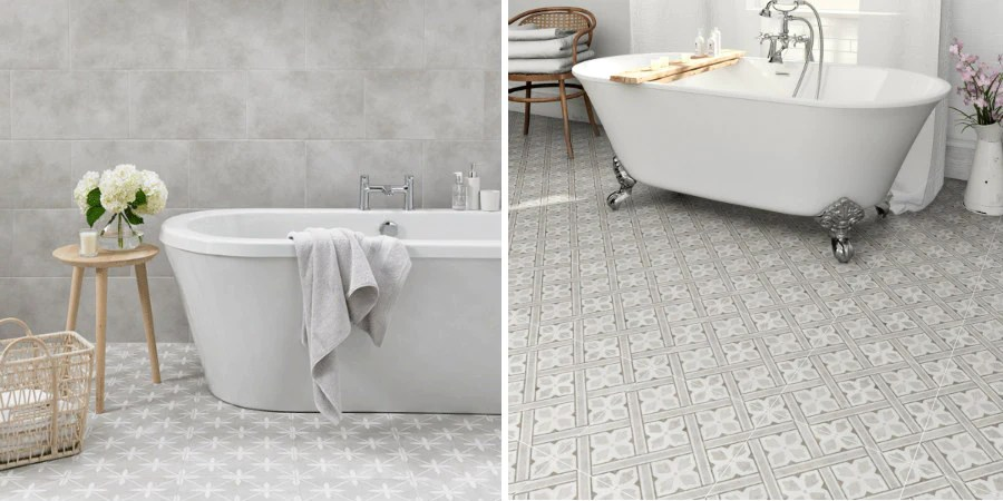10 ways to use patterned tiles in your