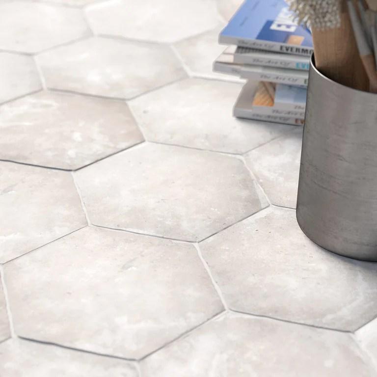 hexagon floor tiles porcelain superstore
