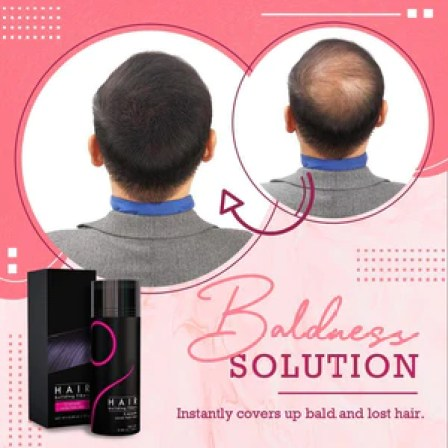 Easy Hair Building Fiber Set