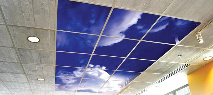 sky ceiling cloud ceiling tiles
