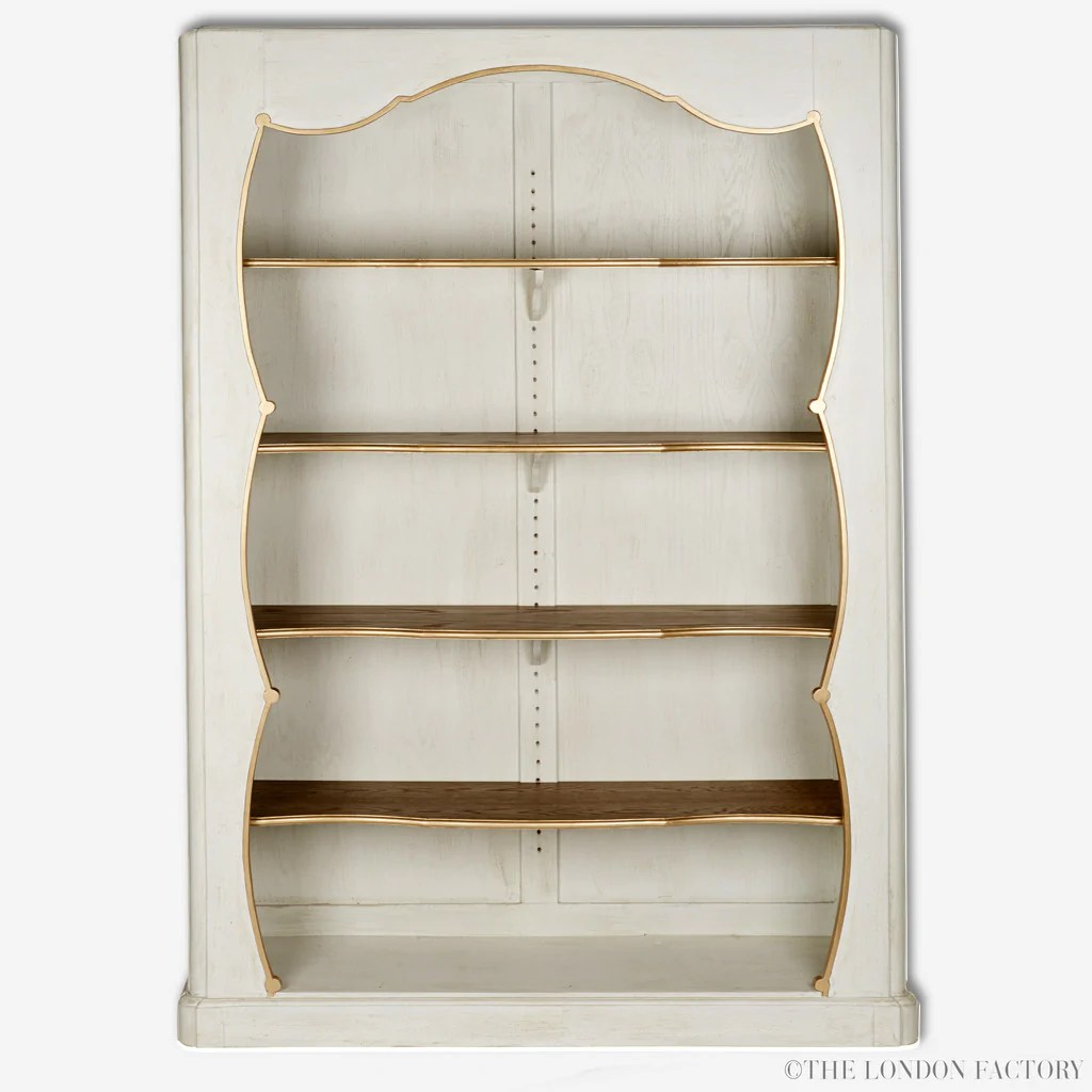 Alexandra Book Case French Antique Reproduction Display