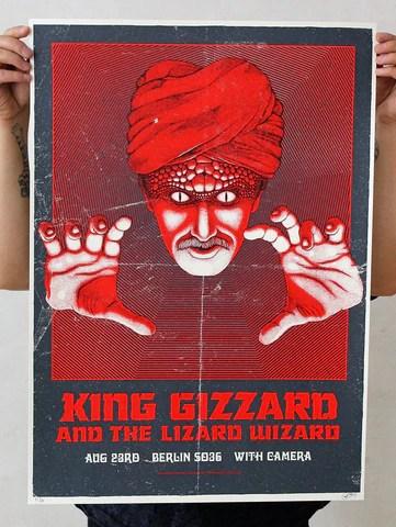 gig poster carlo vivary