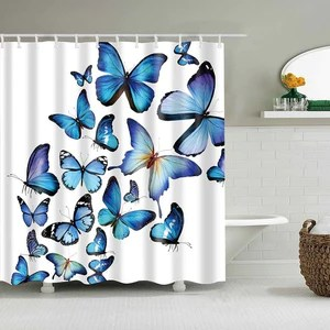 chinese shower curtain polyester