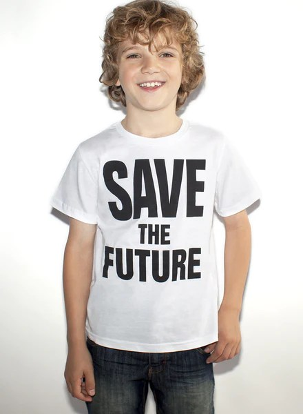 SAVE THE FUTURE Kid's T-Shirt