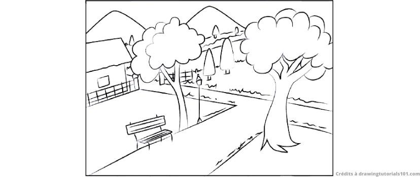 Comment Dessiner Un Jardin Royaume Des Jardins