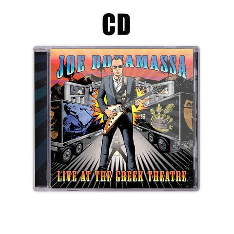 Joe Bonamassa: Live at the Greek Theatre (CD) (Released: 2016) ***PRE-ORDER***