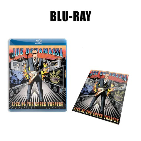 Joe Bonamassa: Live at the Greek Theatre (Blu-ray) (Released: 2016) - Hand-Signed ***PRE-ORDER***