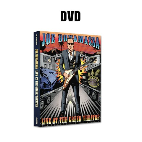 Joe Bonamassa: Live at the Greek Theatre (DVD) (Released: 2016) ***PRE-ORDER***
