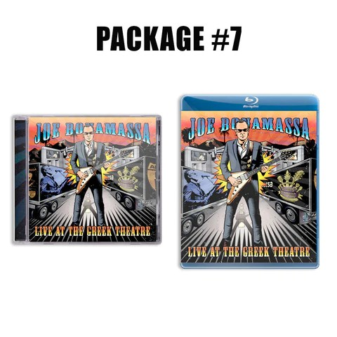 Live at the Greek Theatre CD & Blu-ray Package ***PRE-ORDER***