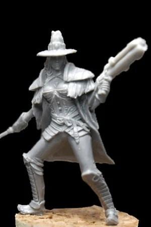 Kalita witch hunter * another world miniatures *