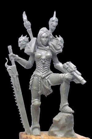 SELENE la fleur du mal , chaos * another world miniatures *