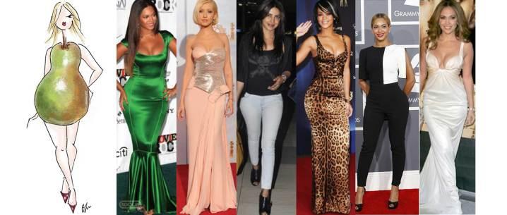 Resultado de imagen de cuerpos femeninos tipos ropa para tipo triangulo o en forma de pera