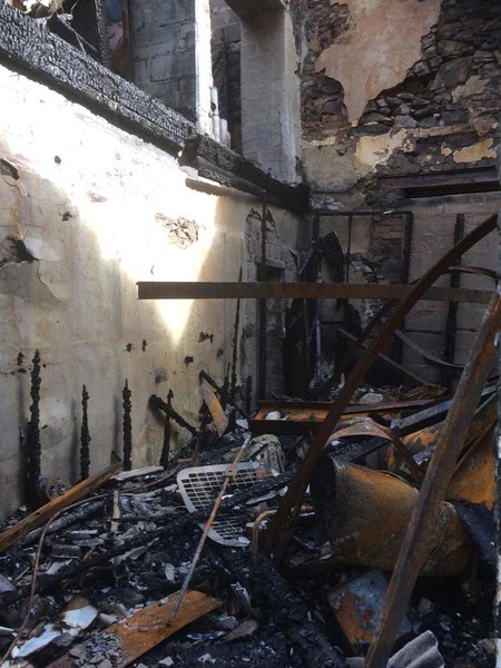 nina's Apartment lethenty mill destroyed in fire