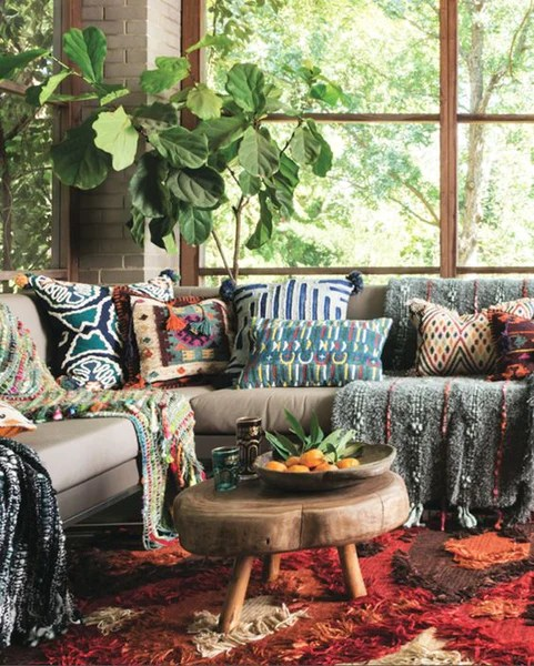 boho living room ideas