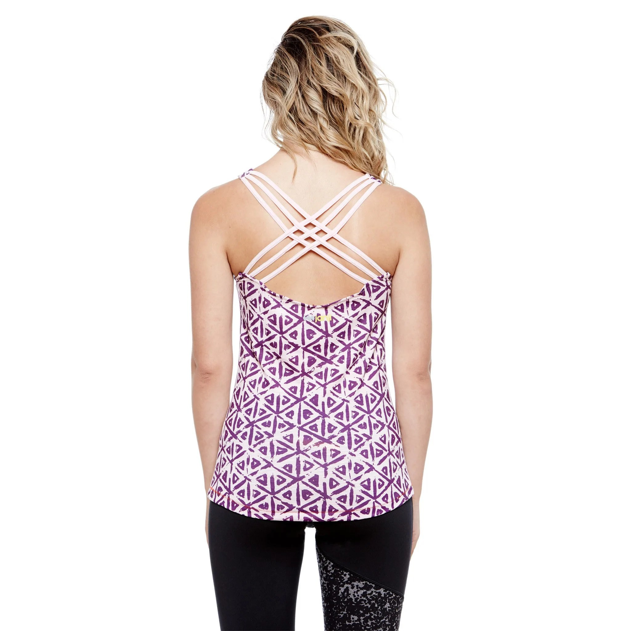 The Nyali Tank has a cute and functional open flow design on the back.