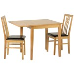 Oak Square Extending Extendable Dining Table And Chair Set With 2 Leather Seats Turquoise Co Uk