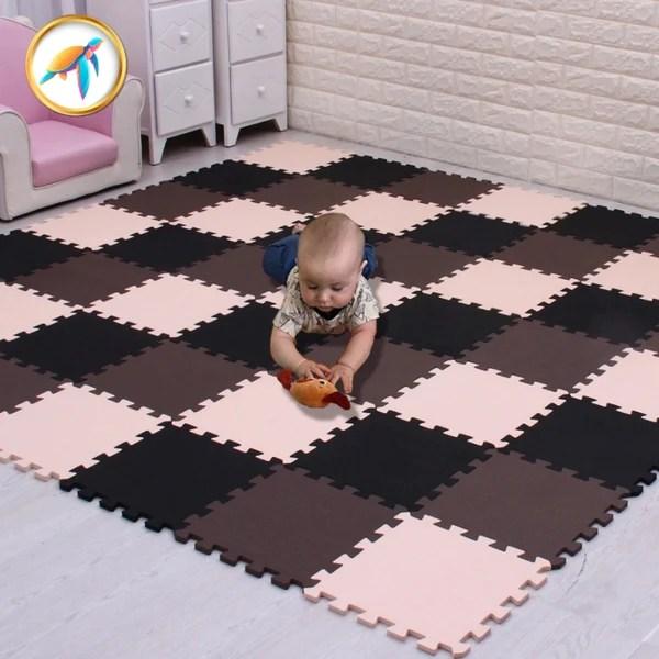 tapis de motricite bebe en mousse pour