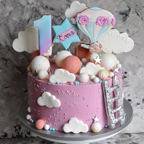 Her First Birthday Cake Delivery To Uae Shop Online The Perfect Gift Dubai