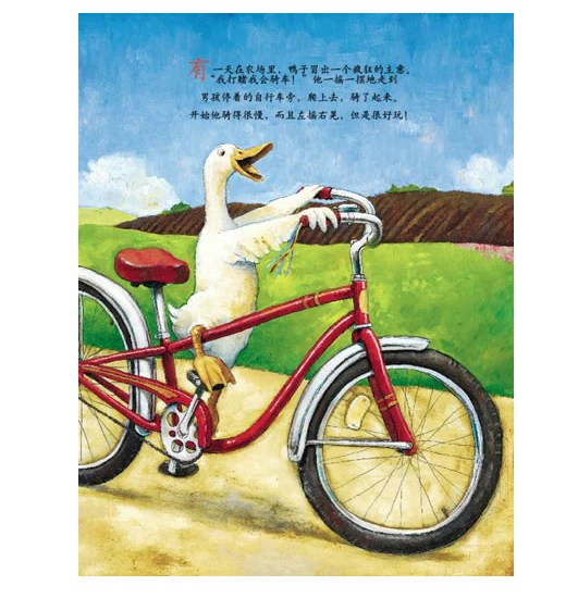 Duck On A Bike By David Shannon Hard Cover Simplified