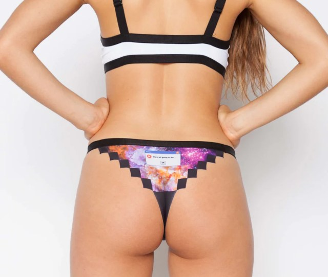 Pixel Panties The Universal