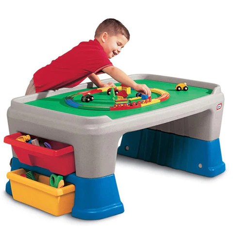 Little Tikes Easy Store Jr Play Table Little Baby