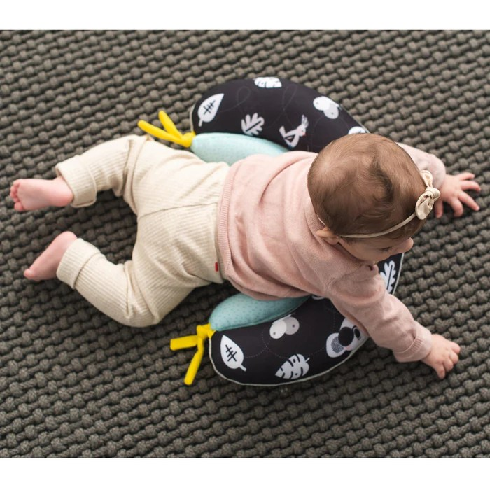 taf toys 2 in 1 tummy time pillow