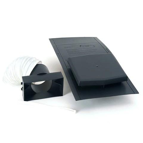 Grey Slate Roof Tile Vent Amp Extractor Shower Fan Kit