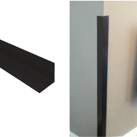 Black Corner Wall Protectors Size Options Homesmart