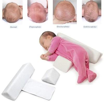 anti flat head baby pillow rise shine