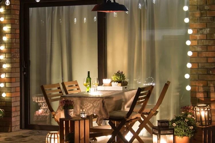 luxury garden party