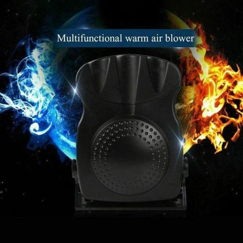 12V Portable Car Heater Electric Heating Cooling Fan Window Defroster