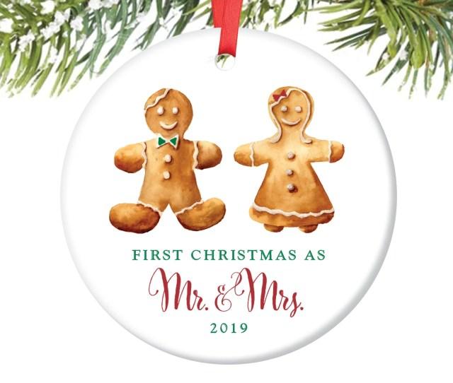 Newlyweds Christmas Ornament