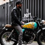 Anthony Partridge X D Face Maddi S Mutt Mutt Motorcycles