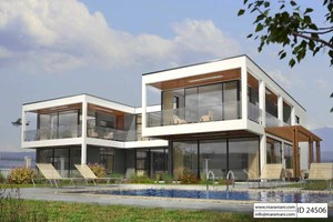 4 Bedroom House Plans   Designs for Africa   House Plans by Maramani 4 Bedroom House Plan   ID 24506